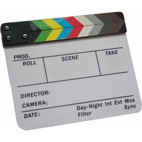 Filmklappe Bunt